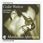 CEDAR WALTON Manhattan Afternoon album cover