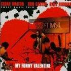 CEDAR WALTON My Funny Valentine album cover