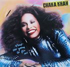 CHAKA KHAN What Cha' Gonna Do For Me album cover