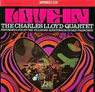 CHARLES LLOYD The Charles Lloyd Quartet ‎: Love-In album cover