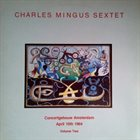 CHARLES MINGUS Charles Mingus Sextet: Concertgebouw Amsterdam April 10th 1964. Vol 2 (aka Charlie Mingus' Jazz Workshop) album cover