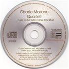 CHARLIE MARIANO Live in der Alten Oper Frankfurt album cover