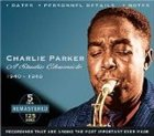 CHARLIE PARKER A Studio Chronicle, 1940 - 1948 album cover