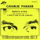 CHARLIE PARKER Bird's Eyes, Volume 15 album cover
