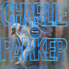 CHARLIE PARKER Charlie Parker Memorial Volume Three album cover