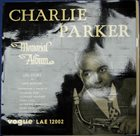 CHARLIE PARKER Memorial Album album cover