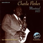 CHARLIE PARKER Montreal 1953 album cover