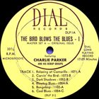 CHARLIE PARKER The Bird Blows The Blues album cover