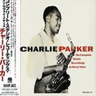 CHARLIE PARKER The Complete Studio Recordings on Savoy Years, Volumes 1-4 album cover