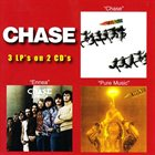 CHASE Chase/Ennea/Pure Music (3LP's On 2 CD's) album cover