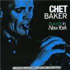 CHET BAKER Autumn in New York album cover