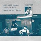 CHET BAKER Chet Baker Quartet Featuring Karl Ratzer : Conception album cover