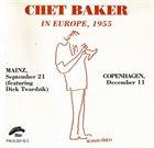 CHET BAKER In Europe, 1955 album cover