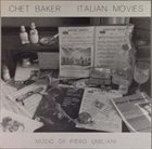 CHET BAKER Italian Movies album cover