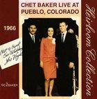 CHET BAKER Live At Pueblo, Colorado 1966 (aka Mister B. aka 'Round Midnight aka Milestone) album cover