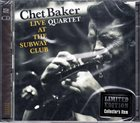 CHET BAKER Live At The Subway Club album cover