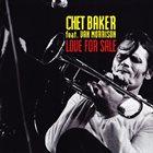 CHET BAKER Love for Sale album cover