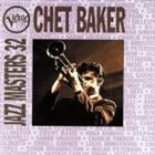 CHET BAKER Verve Jazz Masters 32 album cover