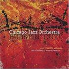 CHICAGO JAZZ ORCHESTRA Chicago Jazz Orchestra With Cyrille Aimée : Burstin' Out album cover