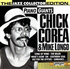 CHICK COREA Chick Corea & Mike Longo : Piano Giants album cover