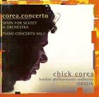CHICK COREA Corea.Concerto album cover