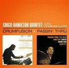 CHICO HAMILTON Drumfusion + Passin' Thru album cover