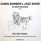 CHRIS BARBER Chris Barber's Jazz Band In New Orleans album cover
