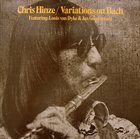 CHRIS HINZE Variations On Bach album cover