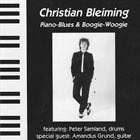 CHRISTIAN BLEIMING Piano Blues & Boogie Woogie album cover