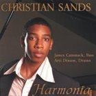 CHRISTIAN SANDS Harmonia album cover