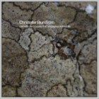 CHRISTOFER BJURSTRÖM Carnet de Croquis d'un Voyageur Immobile album cover