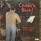 CHUBBY JACKSON Chubby's Back! album cover