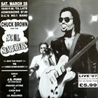 CHUCK BROWN Live '87 (aka Live - D.C. Bumpin' Y'All) album cover