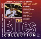 CLARENCE 'GATEMOUTH' BROWN The Blues Collection 35: Just Got Lucky album cover
