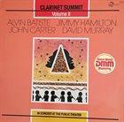 CLARINET SUMMIT Clarinet Summit, Vol. 2 album cover