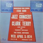 CLARK TERRY Clark Terry, Horseheads High School Stage Band : Jazz Concert album cover