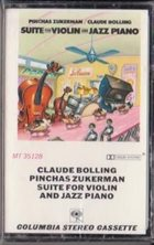 CLAUDE BOLLING Suite for Violin & Jazz Piano Trio album cover