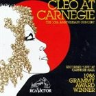 CLEO LAINE Cleo at Carnegie: The 10th Anniversary Concert album cover