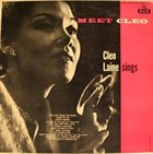 CLEO LAINE Meet Cleo album cover