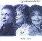CLEO LAINE Quintessential Cleo album cover