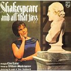 CLEO LAINE Shakespeare and All That Jazz album cover