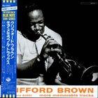 CLIFFORD BROWN More Memorable Tracks (aka Alternate Takes) album cover