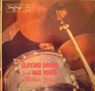CLIFFORD BROWN At Basin Street (with Max Roach) album cover