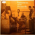 CLIFFORD BROWN Brown And Roach Incorporated (with Max Roach) album cover