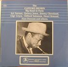 CLIFFORD BROWN Clifford Brown Big Band in Paris album cover