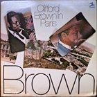 CLIFFORD BROWN Clifford Brown In Paris album cover