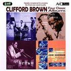 CLIFFORD BROWN Four Classic Albums album cover