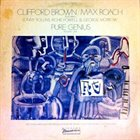 CLIFFORD BROWN Pure Genius Volume One album cover