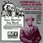 CLIFFORD HAYES Clifford Hayes & the Louisville Jug Bands, Vol. 1 album cover
