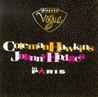COLEMAN HAWKINS Coleman Hawkins, Johnny Hodges ‎: In Paris album cover